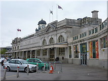 ST1875 : Cardiff: Central Station by Chris Downer