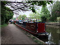 TQ0593 : Narrow boat, Trinity on the Grand Union Canal at Rickmansworth by PAUL FARMER
