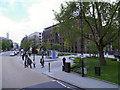 TQ3281 : St Paul's Churchyard, Carter Lane Gardens by David Dixon