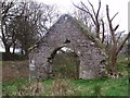 NS8774 : Easter Jaw, ruins [5] by Robert Murray