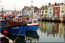 SY6778 : Weymouth: Custom House Quay by Mr Eugene Birchall