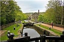SD9927 : Rochdale Canal, Hebden Bridge by Paul Buckingham