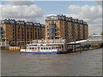 TQ3680 : Hilton Docklands Pier by David Dixon