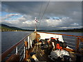 NS4373 : Doon The Watter - 25th June 2011 : The Clyde Upstream From Dunglass Castle by Richard West