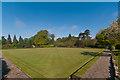 TQ2550 : Churchfields Bowls Club by Ian Capper