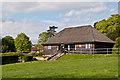 TQ2550 : Churchfields Bowls Clubhouse by Ian Capper