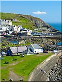 NW9954 : Portpatrick Lifeboat Station by Andy Farrington