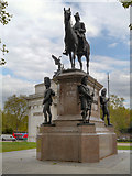 TQ2879 : Hyde Park Corner, Duke of Wellington's Statue by David Dixon