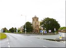 SJ3464 : Broughton, parish church by Mike Faherty