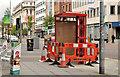 J3374 : New telephone box, Belfast by Albert Bridge