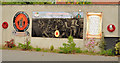 J0958 : Battle of the Somme mural, Lurgan by Albert Bridge