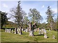 NH5137 : Glenconvinth Cemetery by Craig Wallace