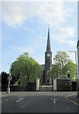 NS4263 : Johnstone High Parish church by John Firth
