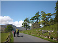 NY2906 : Heading for the heights, Great Langdale by Karl and Ali