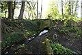 TQ0247 : Looking up the spillway by Bill Nicholls