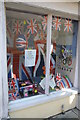 SN7634 : Jubilee/Olympic window display by Philip Halling