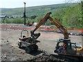 SO1107 : Site preparation, Rhymney by Robin Drayton