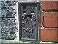 SN5748 : OSBM Flush Bracket S0451 - Lampeter Town Hall by N Scott