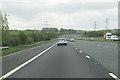 NY5618 : M6 south approaching Edge Brow bridge by John Firth
