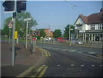TQ8986 : Southchurch Boulevard at the junction of Hamstel Road by David Howard