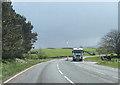 NY7005 : Turning for Newbiggin at St Helens by John Firth