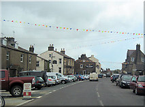 SD8789 : Market Place Hawes A684 east by John Firth