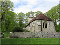 TQ4205 : St. Peter's Church, Southease by Chris Heaton