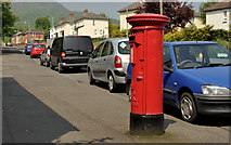 J3479 : Pillar box, Belfast by Albert Bridge