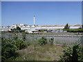 SP1084 : Chimney of Veolia energy recovery plant by David P Howard