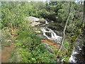NU0901 : Waterfall on the Black Burn by Jonathan Thacker