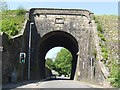 SJ9377 : Macclesfield Canal - Viaduct over Palmerston Street by John M