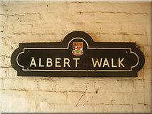 SU6351 : Passage off Winchester Street by Sandy B