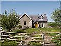 NT5150 : Cottage at Blackburn by Trevor Littlewood