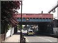 TQ3582 : Globe Road railway bridge, Bethnal Green by David Anstiss