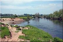 SO5635 : River Wye near Holme Lacy by Anthony Parkes