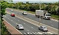 J3182 : The M2 hill section, Glengormley by Albert Bridge