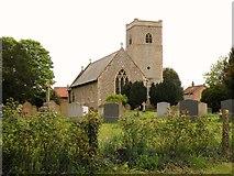 TM0099 : St. Peter: the parish church of Little Ellingham by Robert Edwards
