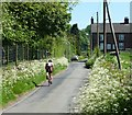 SK0449 : Cycling up to Winkhill by Christine Johnstone