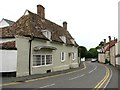 TL5663 : Cottage in High Street, Swaffham Prior by Evelyn Simak