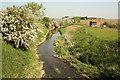 SK7845 : River Devon by Richard Croft