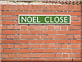 TG5200 : Noel Close sign by Adrian Cable
