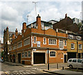 TQ3082 : Former coach house, Northington Street by Julian Osley