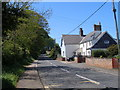NZ4238 : B1281 near Hallow Hill (westbound) by John Slater
