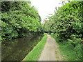 SE0423 : Walking east along the Rochdale Canal by Ian S