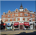 TQ2385 : Costa coffee shop, Cricklewood Broadway London NW2 by Jaggery