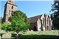 SO7137 : St Michael & All Angels' church, Ledbury by Julian P Guffogg