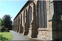 SO7137 : South side, St Michael & All Angels' church, Ledbury by Julian P Guffogg