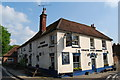 SU7714 : Coach and Horses, Compton by Barry Shimmon