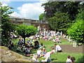 SP9912 : Fernery Garden and Fernery on Fete Day, Ashridge House by Chris Reynolds