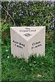 NR8092 : Milestone on the Crinan Canal by Patrick Mackie